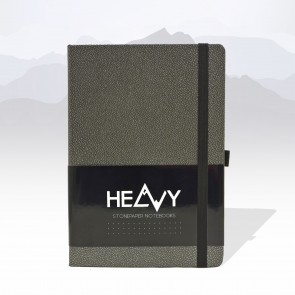 Heavy Stonepaper Notebook Anthracite