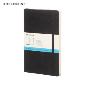 Moleskine Classic L Hardcover Notebook Dotted Zwart