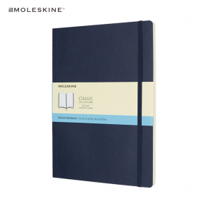 Moleskine® Classic XL Softcover Notitieboek Dotted Blauw